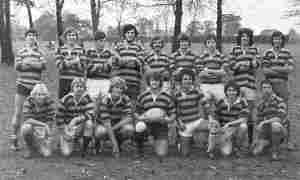 Rugby team at MNC late 1970s